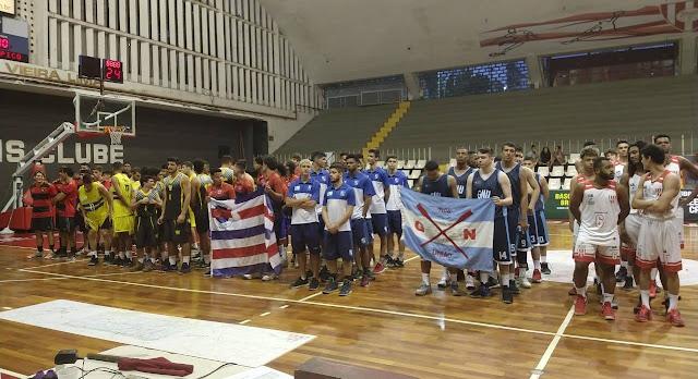 Cerimônia de abertura no Tijuca Tênis Clube [Divulgação/Tijuca]