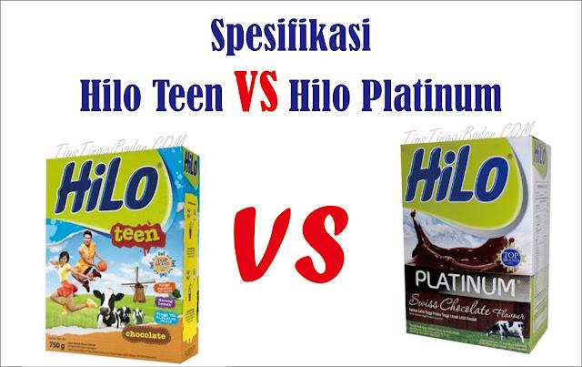 Review Susu Hilo Teen & Hilo Platinum Peninggi Badan