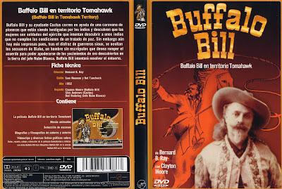 Cover Dvd, Carátula | Buffalo Bill in Tomahawk Territory