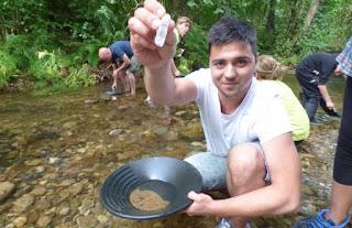 como encuentrar oro en el rio or en el solo