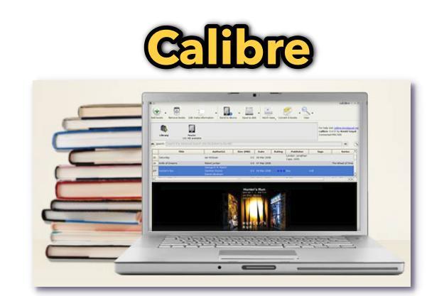 Calibre - Δωρεάν πρόγραμμα διαχείρισης ηλεκτρονικών βιβλίων