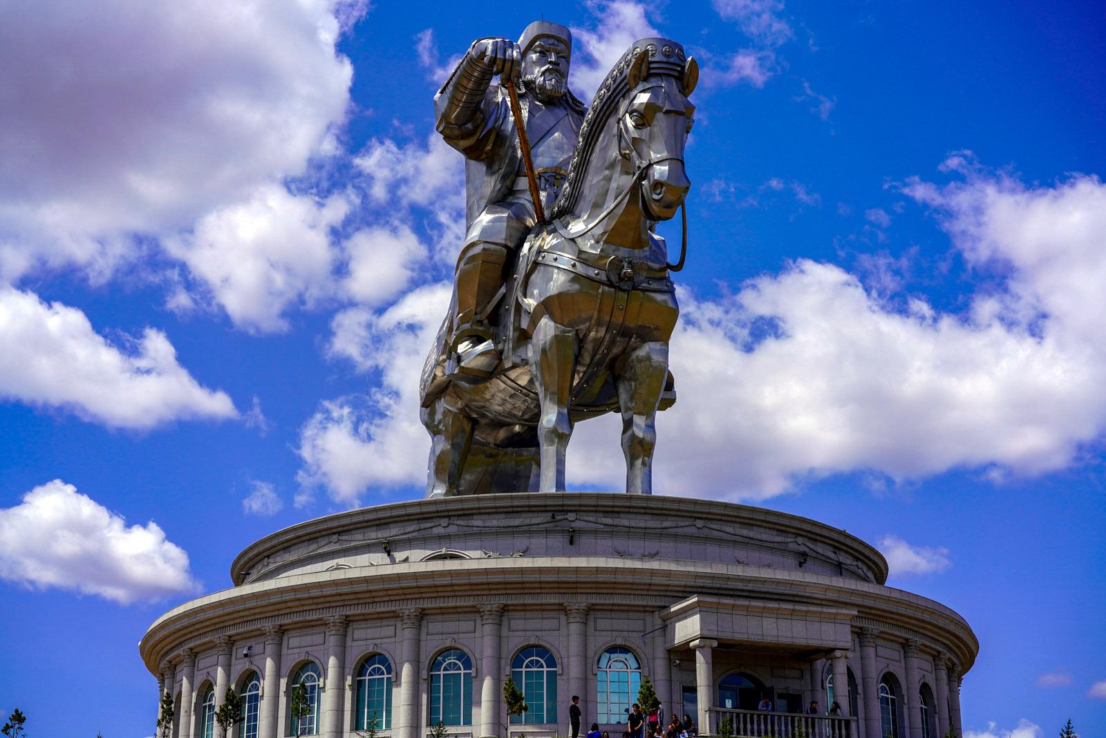 The Bar At Genghis Khan Equestrian Statue, Mongolia