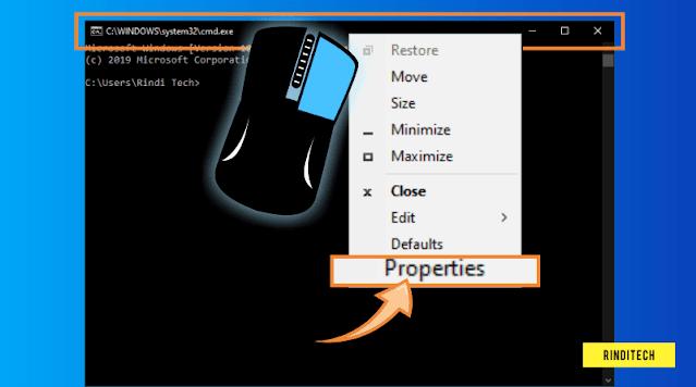 Cara Mudah Mengganti Tampilan CMD Command Prompt di PC