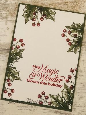 Stampin Up Poinsettia petals