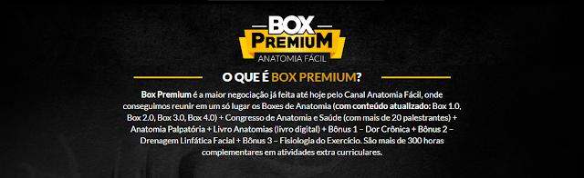 Box Premium - Anatomia Fácil