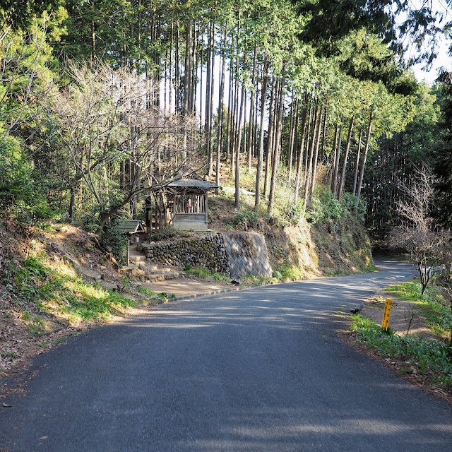 奥武蔵グリーンライン 北向地蔵