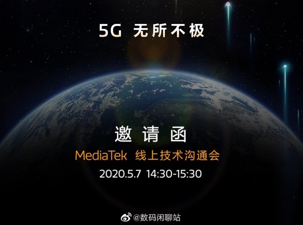 شركة MEDIATEK قد تطلق هاتف SOC 5G جديدة بأسعار معقولة في مايو 7