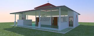Desain Mushola