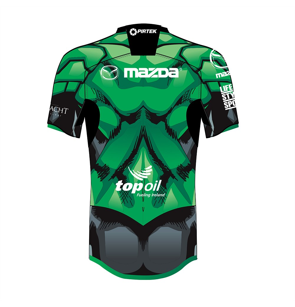 Connacht Rugby Green Lantern Kit by BLK Sports