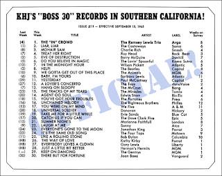 KHJ Boss 30 No. 11 - September 15, 1965