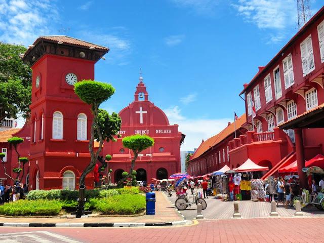 Quảng trường Hà Lan – Kiến trúc Hà Lan trên đất Á