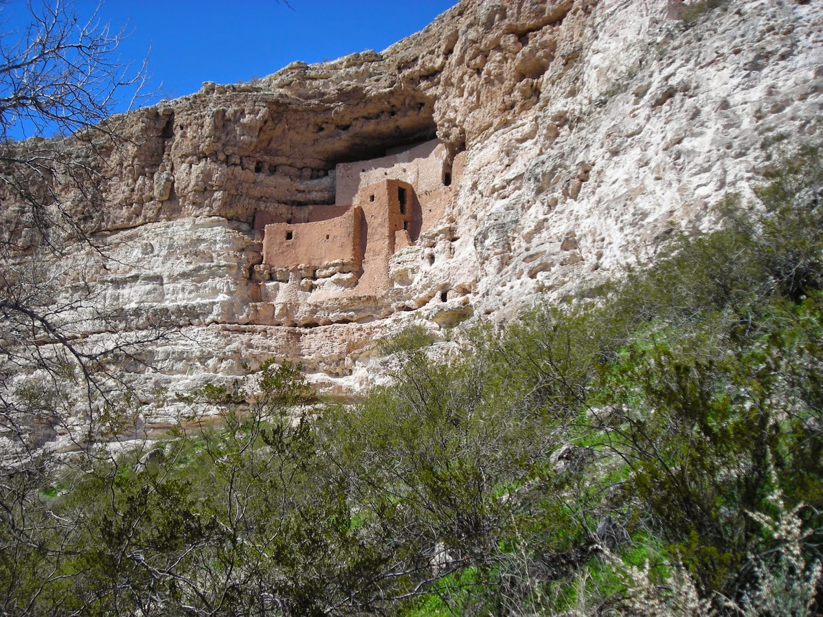 Montezuma Castle, Arizona, now abandoned