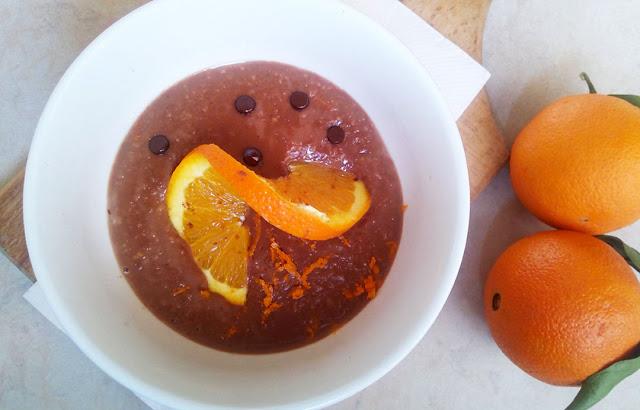 Βρώμη με πορτοκάλι και σοκολάτα