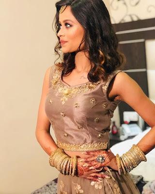 Monika Chauhan Riti Riwaz haldi Actress