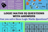Can you solve these Logic Maths IQ Questions quickly?