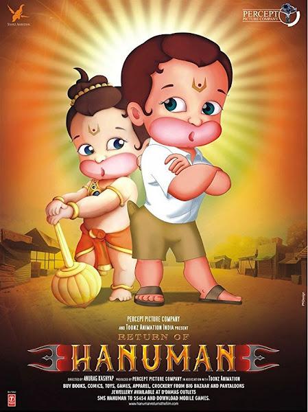 Poster of Return of Hanuman 2007 Full Movie 720p HDRip In Hindi Download