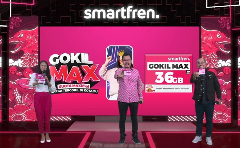 Djoko Tata Ibrahim, Deputy CEO Smartfren dan Sukaca Purwokardjono, Deputy CEO Mobility Smartfren
