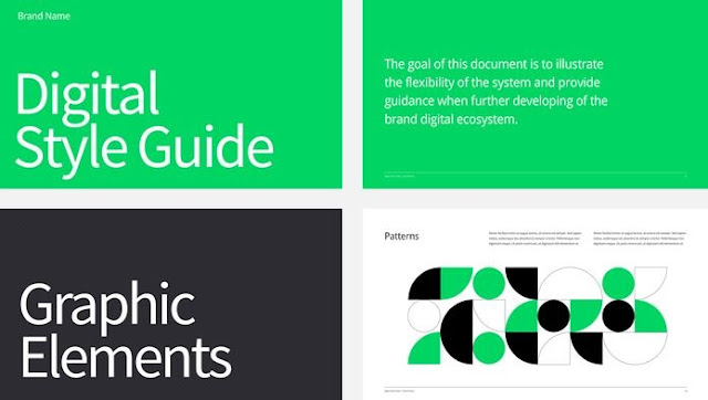 how to develop style guide digital products