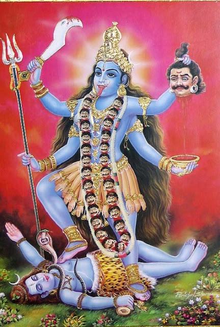 Kali deusa hindu