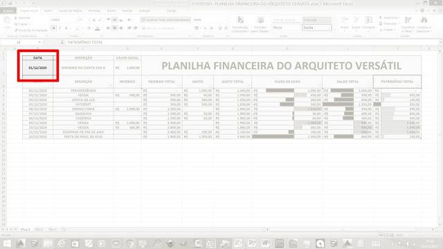 Como usar a minha Planilha Financeira?