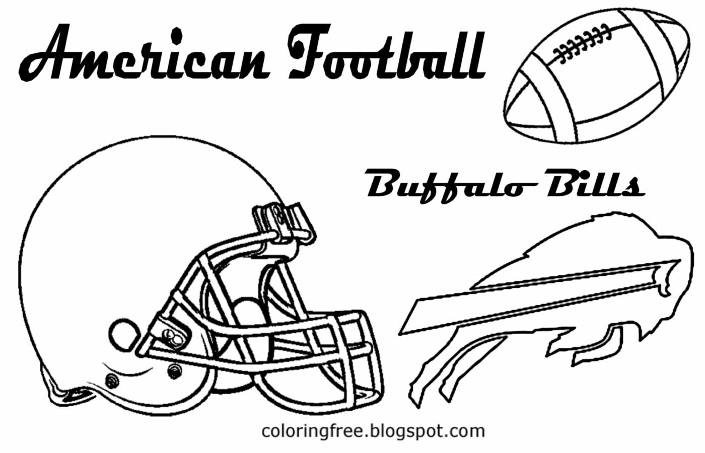 Buffalo Bills Coloring Pages