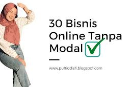 30 Cara Jualan Online Tanpa Modal