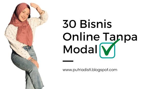 100 Cara Jualan Online Tanpa Modal
