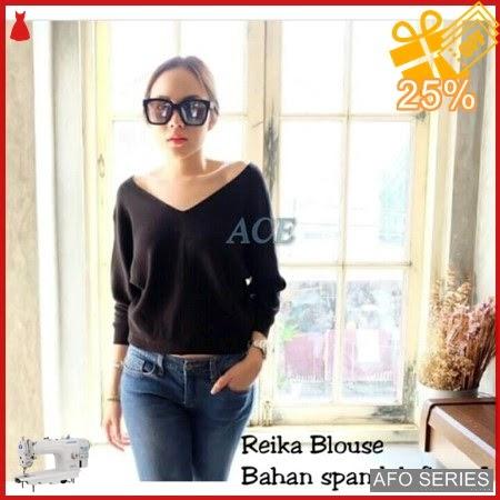 AFO512 Model Fashion Reika Blouse Modis Murah BMGShop