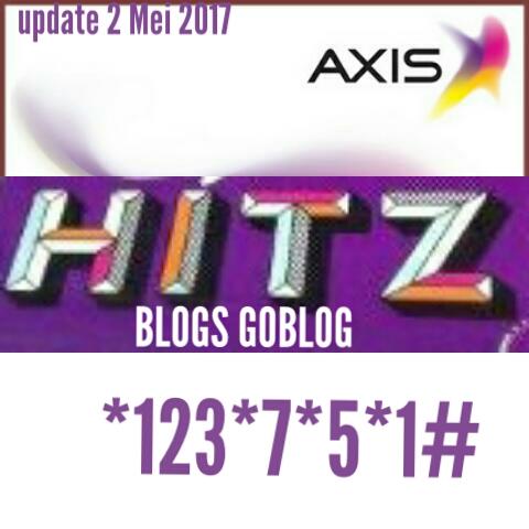 Update Config Axis Hits 2 Mei - 9 Mei 2017 Terbaru