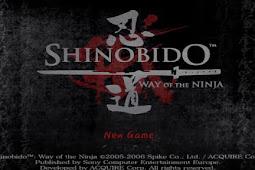 Shinobido Way of the Ninja PS2 ISO