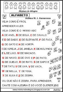 Canto do alfabeto