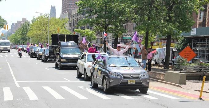 Polanco recibe respaldo masivo para diputado en ultramar durante caravanas del PLD en El Bronx y Manhattan