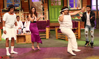 The Kapil Sharma Show with Abbas Mustan and Machine cast   TV Show Pics March 2017 06.JPG