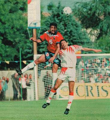 Túnez y Chile en partido amistoso, 31 de mayo de 1998