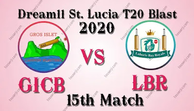 Who will win GICB vs LBR 15th T10 Match