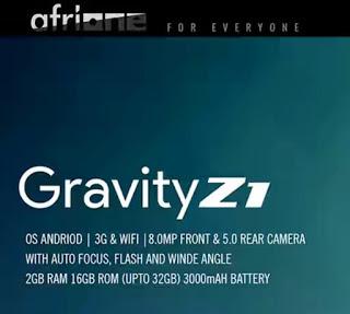 Gravity Z1 Full Specs and Price -Sooloaded.net