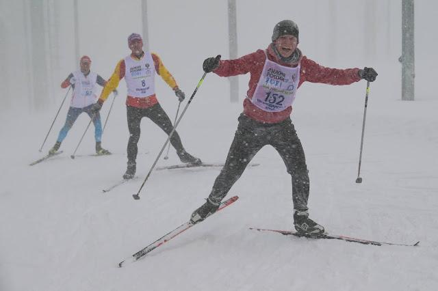 Андрей Думчев, Лыжня России 2021