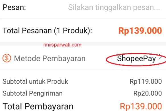 Cara Melihat Total Pembelian di Shopee