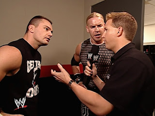 WWE King of the Ring 2002 - Marc Lloyd interviews Lance Storm and Christian