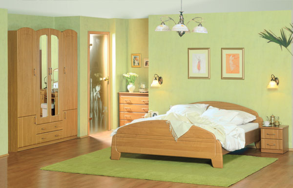 15 fotos de dormitorios verdes dormitorios colores y estilos for Color de pared para dormitorio