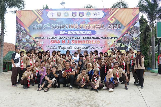 SMK Yasmida Ambarawa Ikut Berpartisipasi dalam The 8 Scouting Festival SMA N 1 Sumberjo