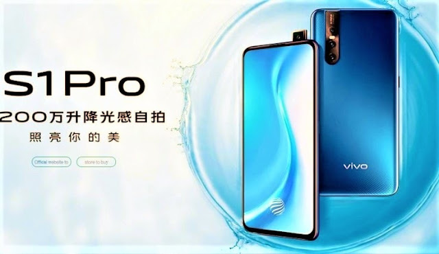 launched inward Red People's Republic of China equally the novel together with latest mobile hollo upwards amongst  Vivo S1 Pro launched amongst 32 MP front end photographic tv set camera