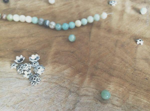 Perles en pierre naturelle d'amazonite My Roller Stone