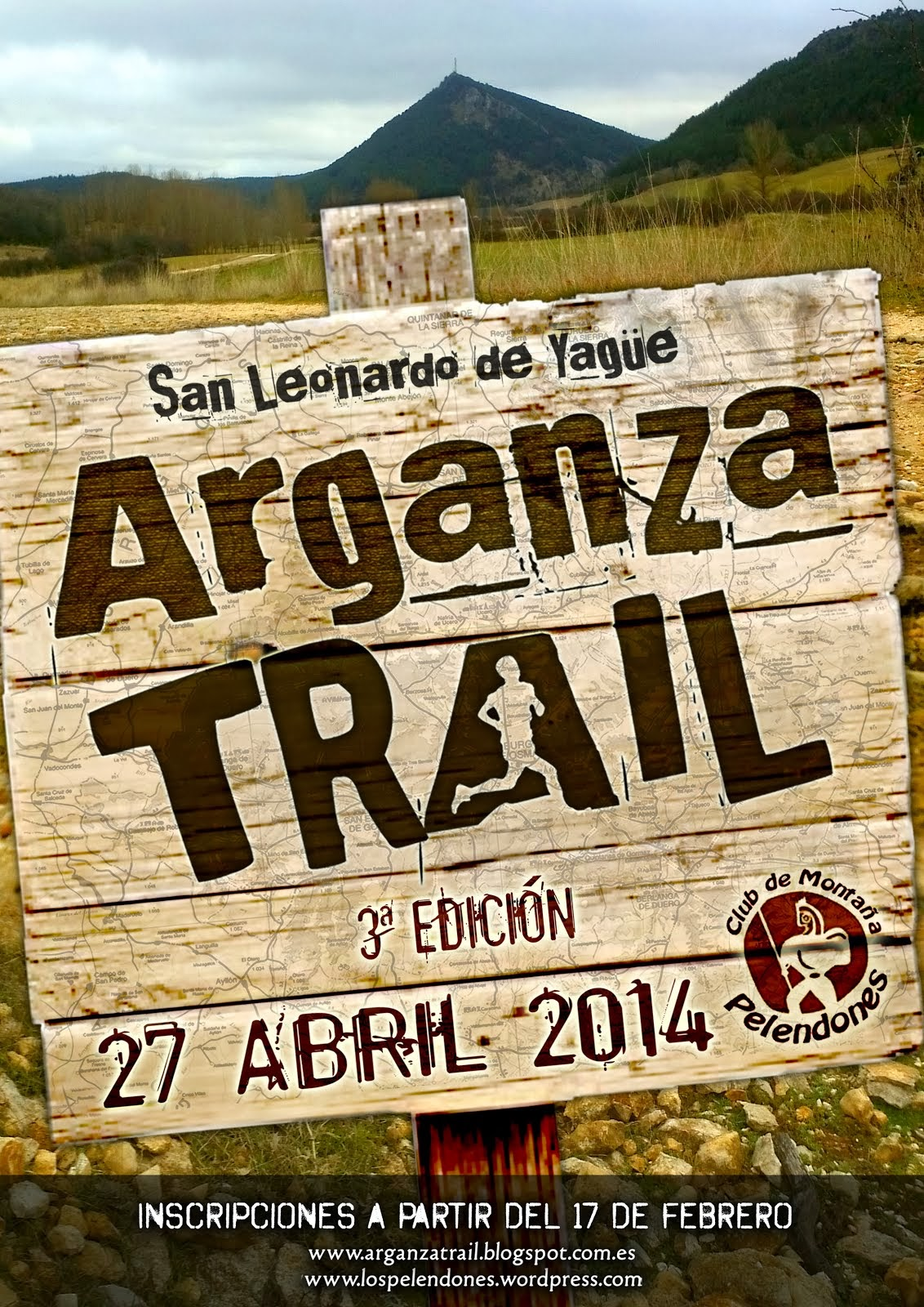 Cartel III ARGANZA TRAIL