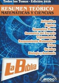 """La biblia de las matemáticas """"Formulario""""   Las Mejores"""