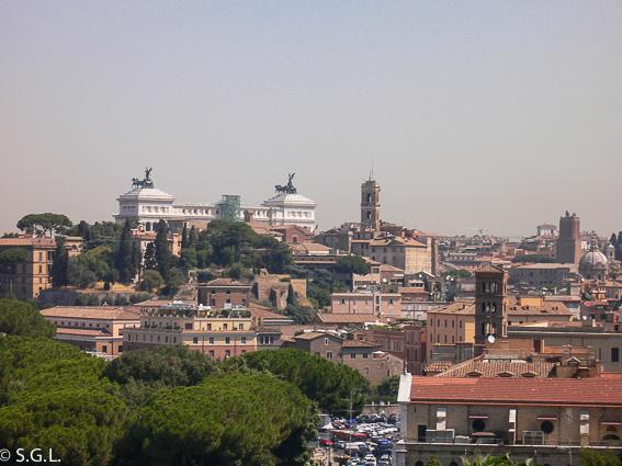 Plaza de Venecia.5 dias en Roma