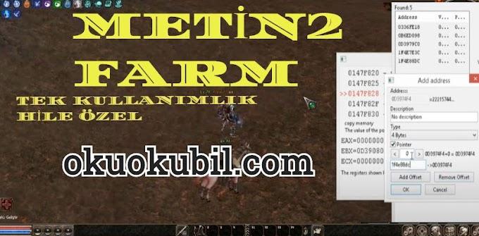 Metin2 FARM Tek Kullanım 32x Hilesi No fix Cheat Engine İndir 2020