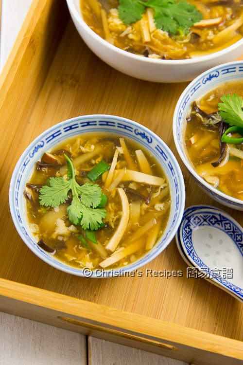 Vegetarian Hot and Sour Soup02