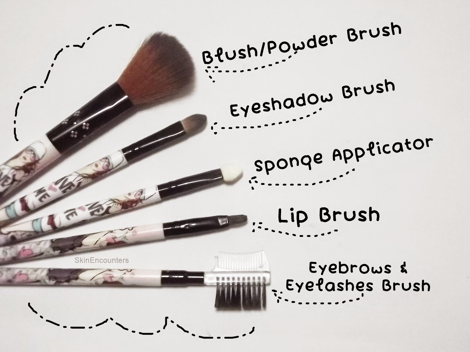 Emaxdesign makeup brushes uses