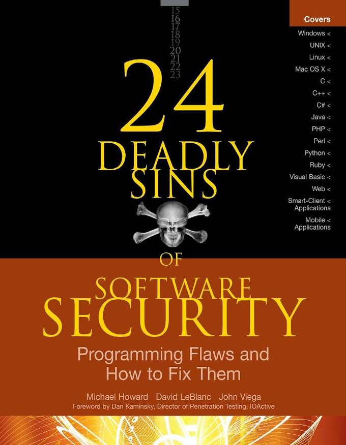 24 DEADLY SINS OF SOFTWARE SECURITY, McGraw-Hill